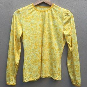 PATAGONIA small yellow long sleeve